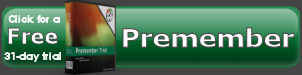 Premember time tracking free trial